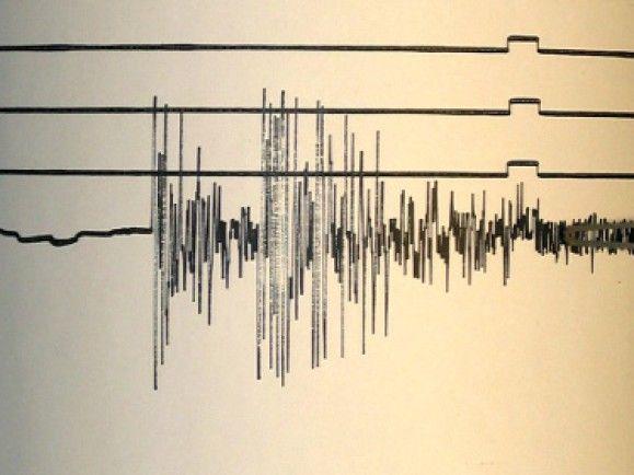 Seismogramm des Erdbebens vom 26.12.2004. / © Landesamt für Geologie Baden-Wuerttemberg/ddp