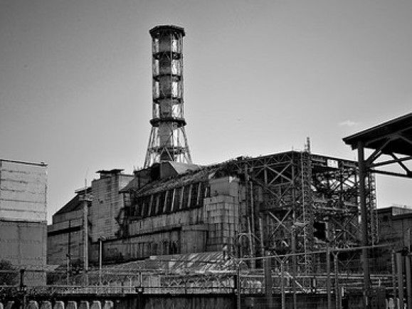 In Kürze jährt sich das Unglück im Kraftwerk in Tschernobyl zum fünfundzwanzigsten Mal. / Link zu pixelio.de