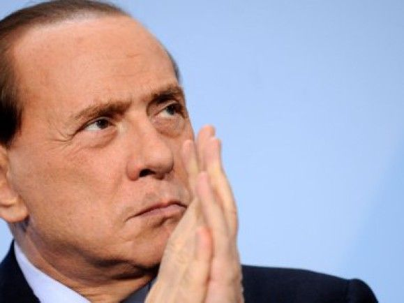 Italiens Ministerpräsident Berlusconi denkt über einen Rücktritt zum Jahreswechsel nach. Foto: © Axel Schmidt / dapd