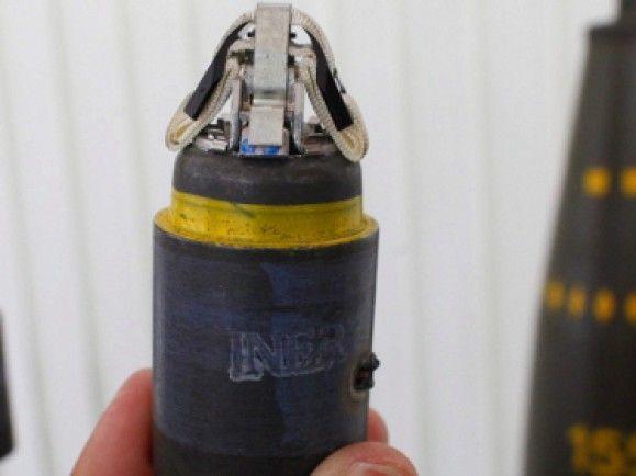 Hauptgefahr von Streumunition sind Blindgänger, die jahrelang im Boden verbleiben können. Foto: © Michael Urban/ dapd