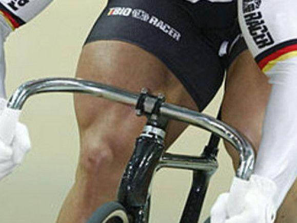 Die Oberschenkel von Robert Förstemann haben einen Umfang von 72 Zentimetern. Foto: Hennes Roth/ wikipedia.de