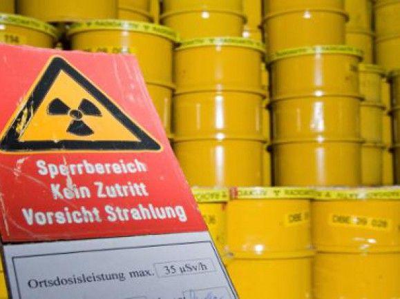 Sollte eigentlich ohne Rost ablaufen: Atommüll-Endlagerung. / Foto: © Jens Schlüter/dapd