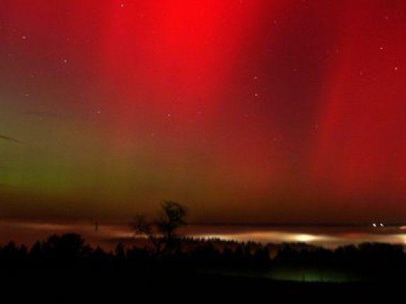Ein hübscher Nebeneffekt von Sonnenstürmen: Polarlichter treten vermehrt auf. / Foto: © Johannes Simon/dapd
