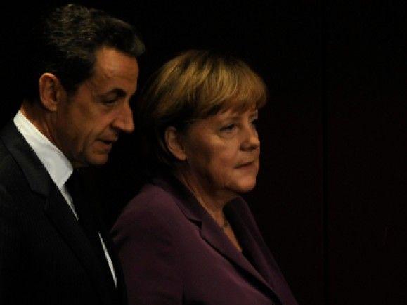 """Das Duo """"Merkozy"""" könnte bald Geschichte sein. /Foto: © Berthold Stadler/dapd"""