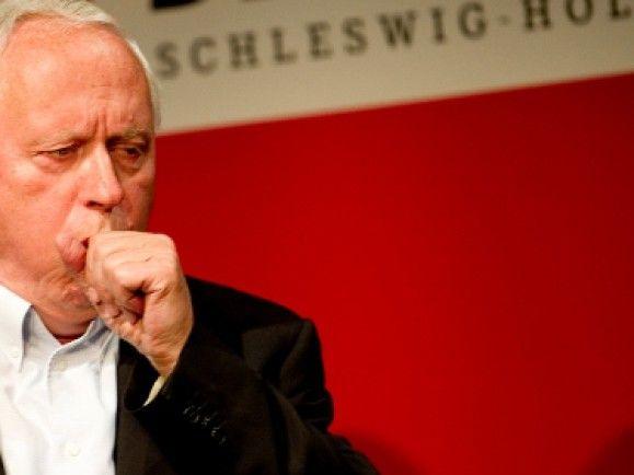Hat politisch schon bessere Zeiten erlebt: Oskar Lafontaine.© Axel Heimken/dapd