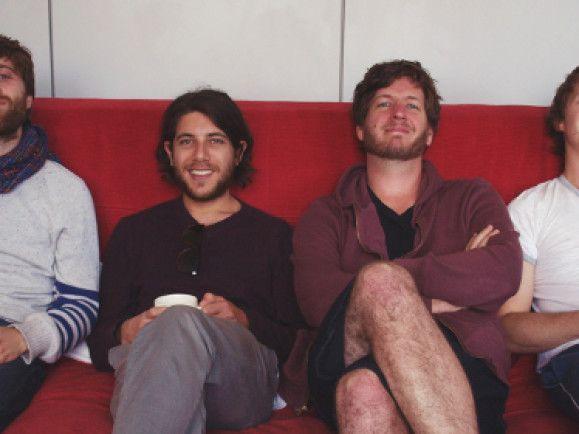 Die Australier von Husky zu Besuch im detektor.fm Studio