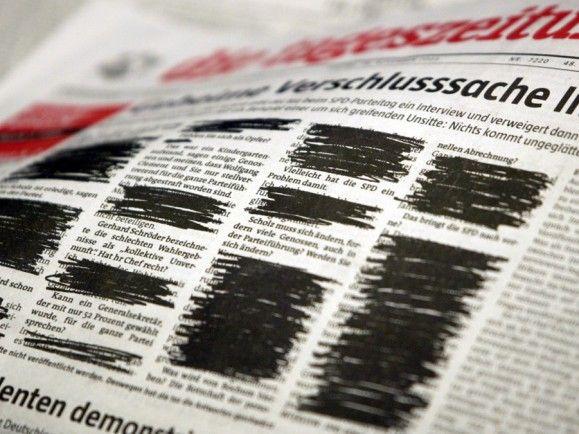 Kritiker befürchten eine Medienzensur auf europäischer Ebene. Ist die Presse- und Meinungsfreiheit wirklich in Gefahr? Foto: © M. Kappeler/dapd