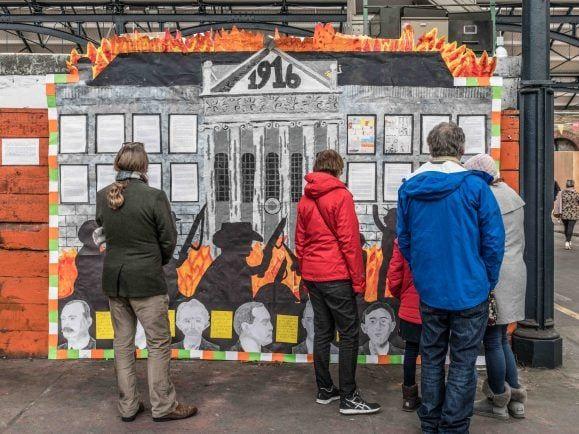 Hundert Jahre Osteraufstand in Dublin – Zeit für die Dubliner, sich mit einem der wichtigsten Ereignisse ihrer jüngeren Geschichte auseinanderzusetzen. Foto: CC BY-SA 2.0   William Murphy / flickr.com