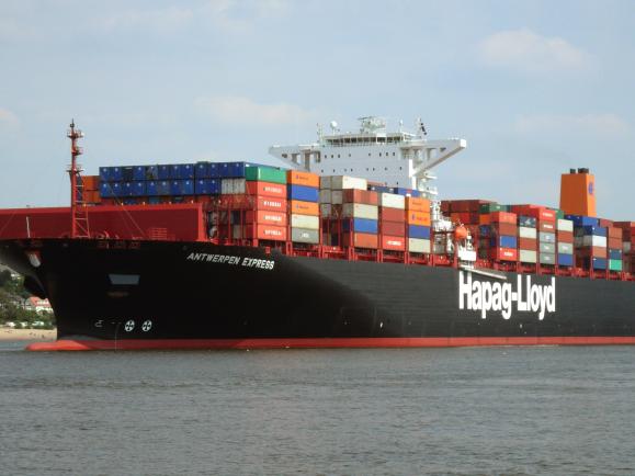 90 Prozent des Welthandels werden über die Meere abgewickelt. CC BY-SA 3.0   Hummelhummel / Wikimedia.