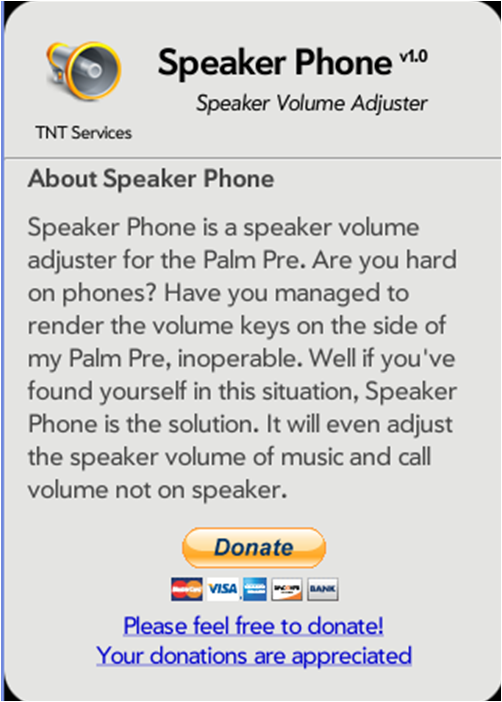 SpeakerPhone Screenshot 1