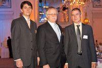 Das Rechercheteam der Süddeutschen Zeitung. Hier bei der Verleihung des Helmut Schmidt Journalistenpreises. / © ING-DiBa