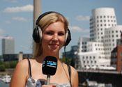 Reporterin bei Antenne Düsseldorf.