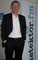 >General Manager< bei Welt Online im detektor.fm-Studio.