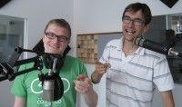 Unser supergutgelauntes Moderatorenduo Bolle und Horst.