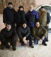 Das Team des Kältebusses in Frankfurt am Main.
