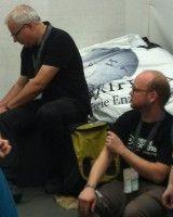 typische Autoren bei Wikipeda ;-) Foto: Solveig Wehking.