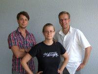 Florian Reichle, Marlene Vogel, Gunnar Schulze / © Trinckle