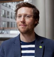 Europa-Abgeordneter der Grünen. Foto: © Fritz Schumann