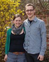 Die beiden Gartenfreunde studieren in Leipzig.