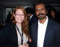 mit dem indischen Filmstar Nawazuddin Siddiqui.