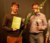 mit Robert Schön bei der Preisverleihung. Foto: © Tim Zülch