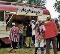 Beim Wagenburger gibt's vegetarische und vegane Gerichte.