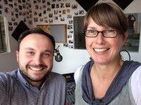 Haben gehört, Selfies sind in Mode: Doris Hellpoldt und Marcus Engert sprechen über Ooho.