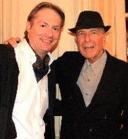 Christof Graf und Leonard Cohen