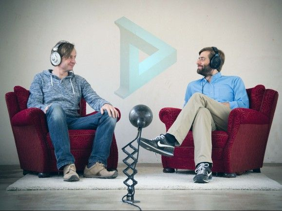 Achim Fell und Christian Sanders haben Dear Reality gegründet - und kümmern sich um 3D-Audio. Foto: Dear Reality UG