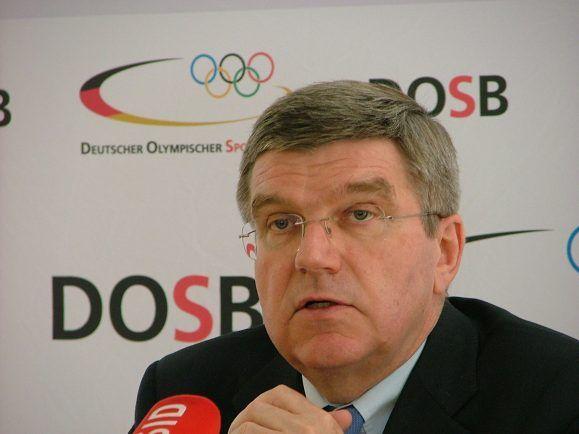 Präsident des IOC Thomas Bach.