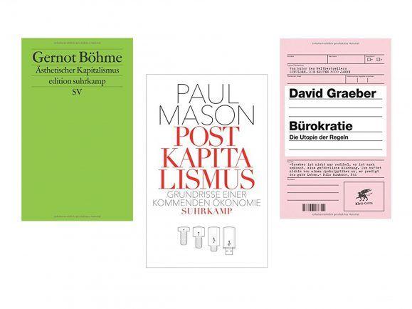 Drei Autoren, drei Bände, dreimal endlos viele Fragen an den Kapitalismus.
