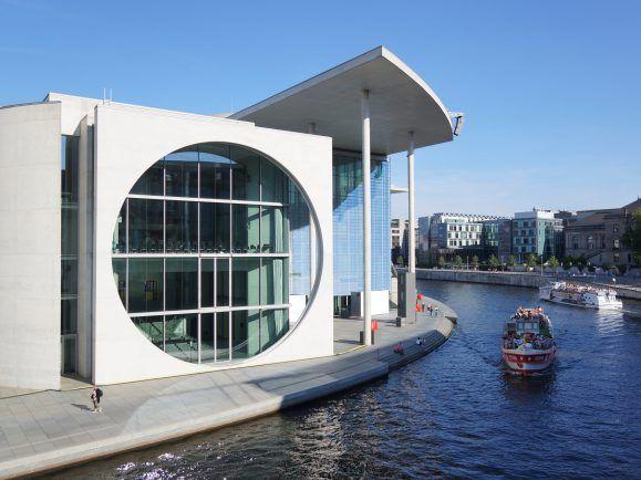 Der Wissenschaftliche Dienst des Bundestags sitzt im hier: im Marie-Elisabeth-Lüders-Haus.