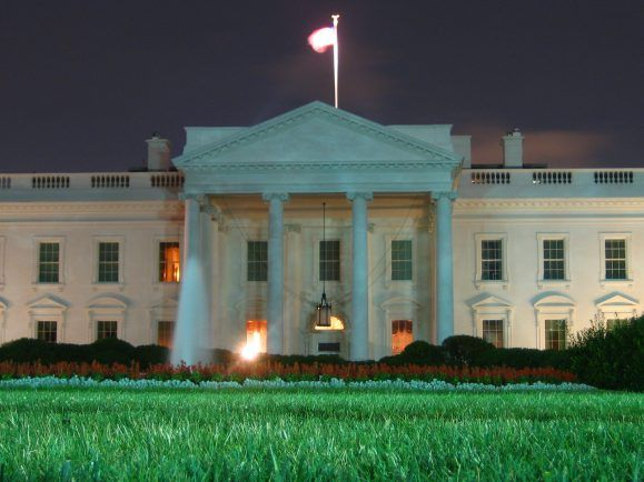 Präsident Obama arbeitet auch nachts.