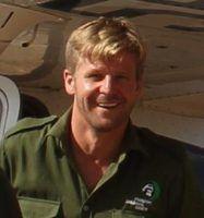 Andre Baumgarten hat für den Great Elephant Census 2014 in Tansania Elefanten gezählt
