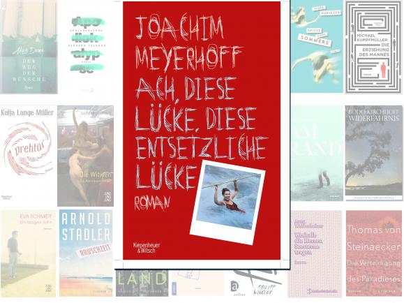 """Joachim Meyerhoff steht mit seinem Roman """"Die Welt im Rücken"""" auf der Longlist des Deutschen Buchpreises 2016. Die Leseprobe dazu hat detektor.fm vertont."""