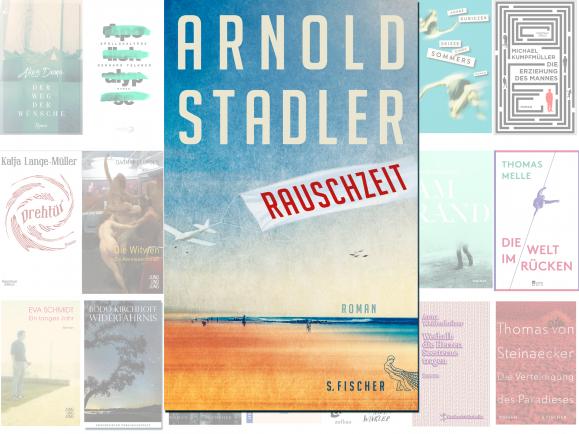 """Arnold Stadler steht mit seinem Roman """"Rauschzeit"""" auf der Longlist des Deutschen Buchpreises 2016."""