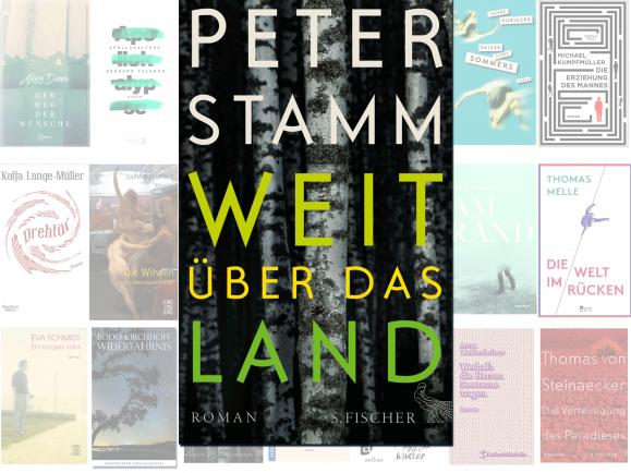 """Peter Stamm steht mit seinem Roman """"Weit über das Land"""" auf der Longlist des Deutschen Buchpreises 2016. Die Leseprobe dazu hat detektor.fm vertont."""