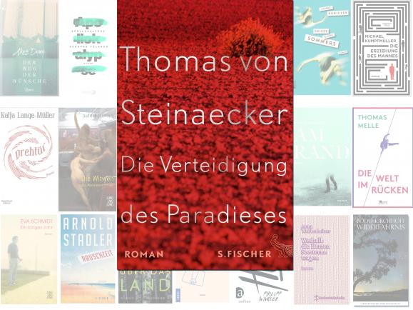 """Thomas von Steinaecker steht mit seinem Roman """"Die Verteidigung des Paradieses"""" auf der Longlist des Deutschen Buchpreises 2016. Die Leseprobe dazu hat detektor.fm vertont."""