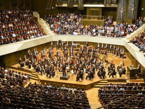 Die Audio Invasion beginnt mit einem Konzert des Gewandhausorchesters. Für viele Besucher das erste klassische Konzert überhaupt. Foto: emotion works Leipzig/Berlin