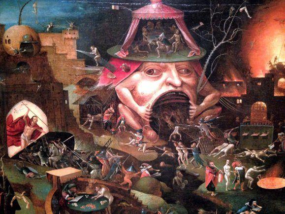 Hatte auch so seine Vorstellungen vom Tod und der Hölle: Hieronymus Bosch.