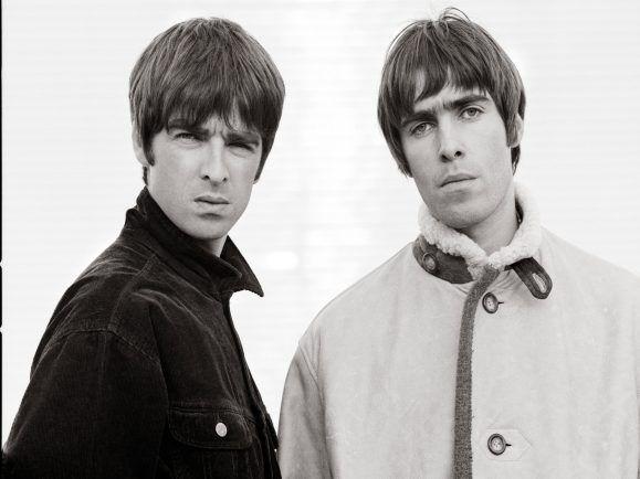 Oasis noch vereint. Werden Noel und Liam jemals wieder auf einer Bühe stehen? Foto: | Jill Furmanovksy