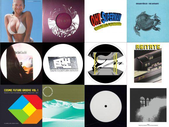 Von Aphex Twin bis Laurie Anderson: Yannick Labbé mischt den MiXery-Plattenkoffer. Collage: detektor.fm