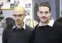 Die Filmemacher Sagi Bornstein und Udi Nir