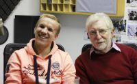 Blinden-Nationalmannschaft: Verteidiger Robert Matthies und Teammanager Rolf Husmann. Foto Kati Zubek / detektor.fm