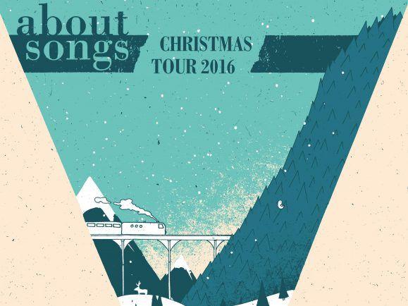 Rollt im Dezember durch die Clubs – die About Songs Christmas Tour. Foto: PR