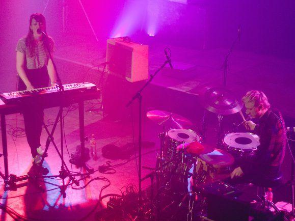 Me And My Drummer auf der Bühne im UT Connewitz in Leipzig (Foto: Kati Zubek/detektor.fm)