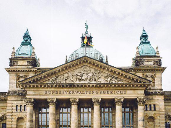 Das Bundesverwaltungsgericht in Leipzig. Ulrich Hörning ist hier, in Leipzig, Bürgermeister für allgemeine Verwaltung.