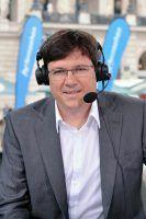 SAARLÄNDISCHER RUNDFUNK Florian Nass - Sportreporter und Kommentator Kommentator bei der Tour de France © HR/Gisela Dienersberger, honorarfrei.