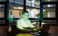 Pauli Miettinen am Max-Planck-Institut fuer Informatik. Foto: Tom Pingel fuer MPG
