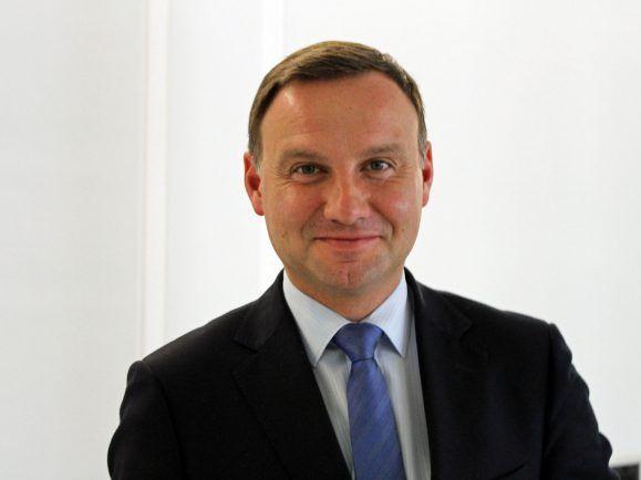 Veto in Polen: Präsident Andrzej Duda lehnte Teile der Justizreform ab.